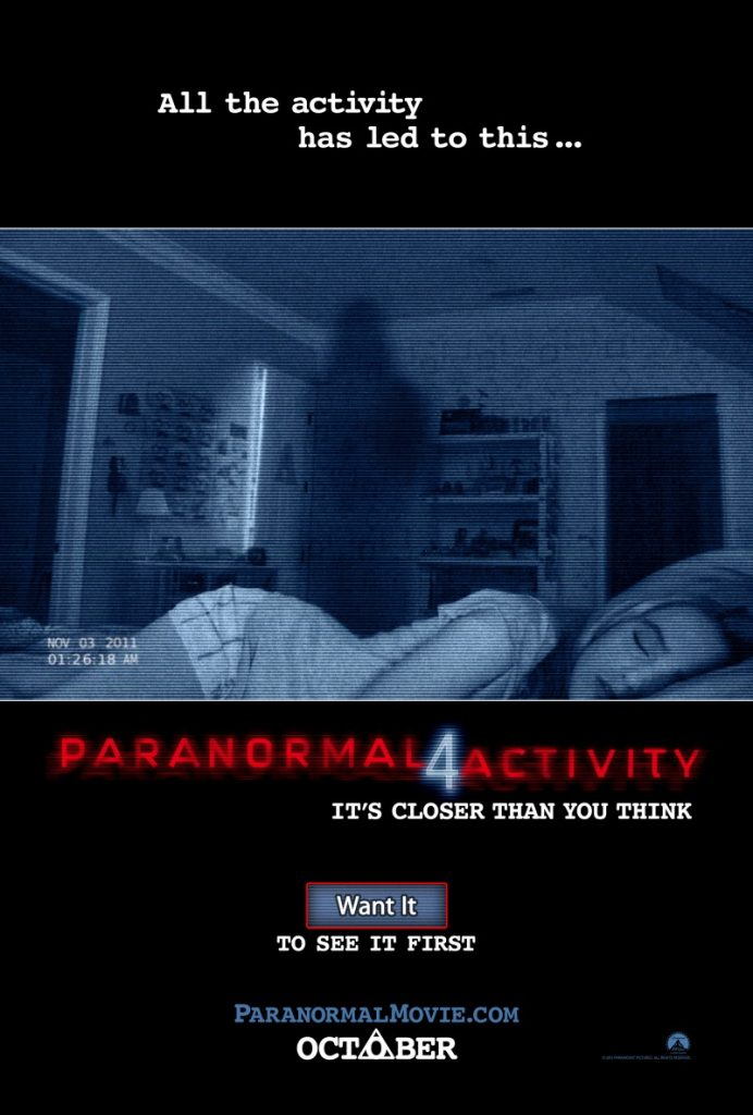 """""""Paranormal Activity 4"""""""