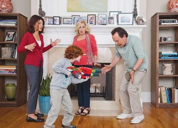'Parental Guidance': Strike up the bland