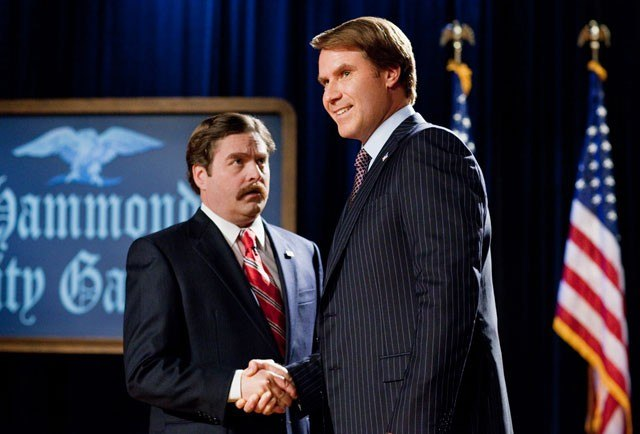 Ferrell-Galifianakis pairing saves 'The Campaign'