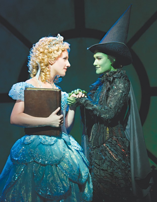 """Thin plot curdles brew of flashy songs and staging in """"Wicked"""""""