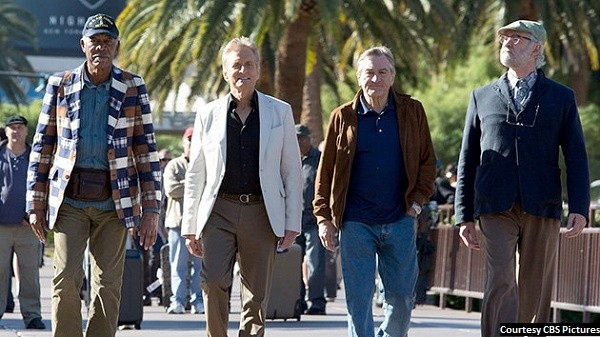Acting foursome elevates 'Last Vegas' to watchable mediocre movie