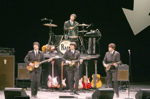 Rain hits all the right notes in Beatles tribute