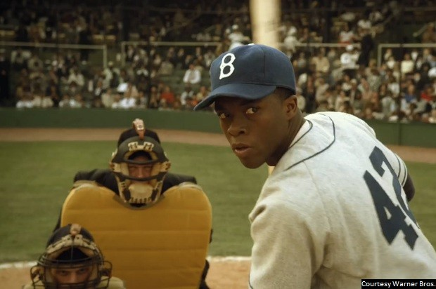 Read more about the article Jackie Robinson biopic '42' a sure hit, but no home run