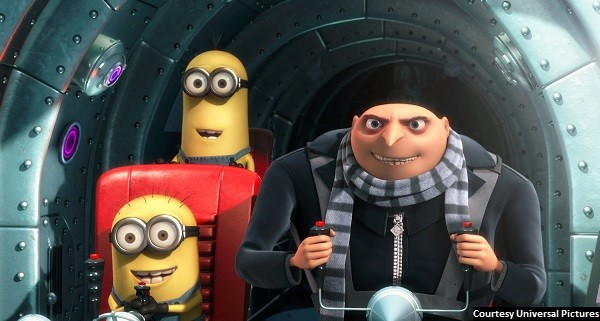 Supervillain wins hearts in 'Despicable Me'