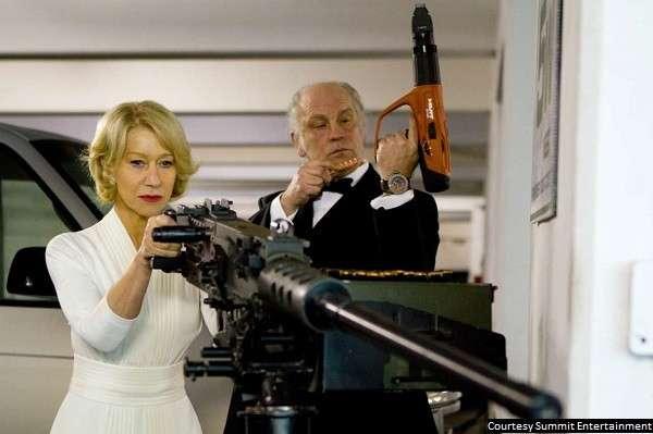Geezers plus guns equals plenty of movie fun in 'Red'