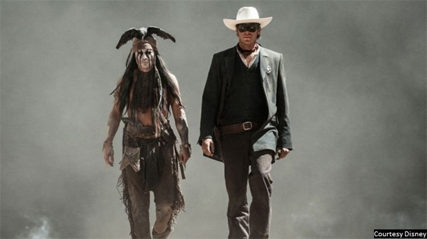 'Lone Ranger' offers uneven tone, heavy dose of Tonto