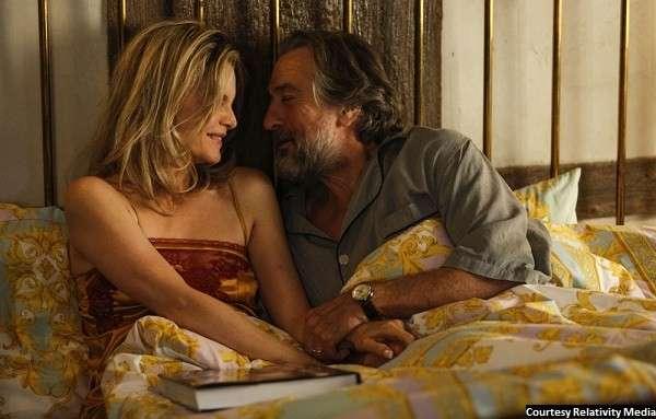 De Niro seems bored in 'The Family'