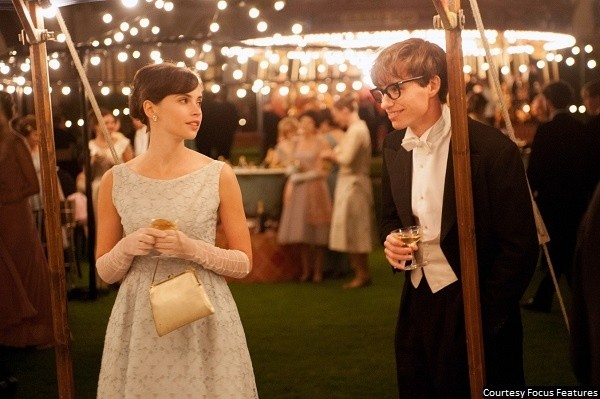 Perfect pairing of Jones, Redmayne holds 'The Theory of Everything' together