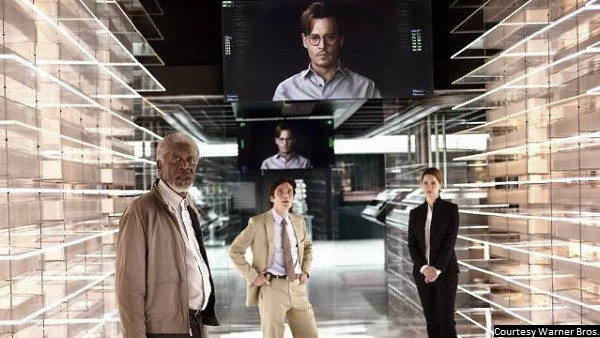 'Transcendence' raises questions it can't answer