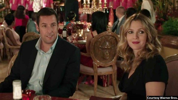 'Blended' just another cog in the Adam Sandler machine