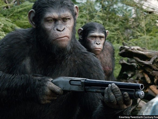 'Dawn of the Planet of the Apes' ratchets up the action