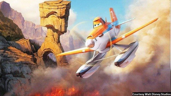 'Planes: Fire & Rescue' is a copy of a copy