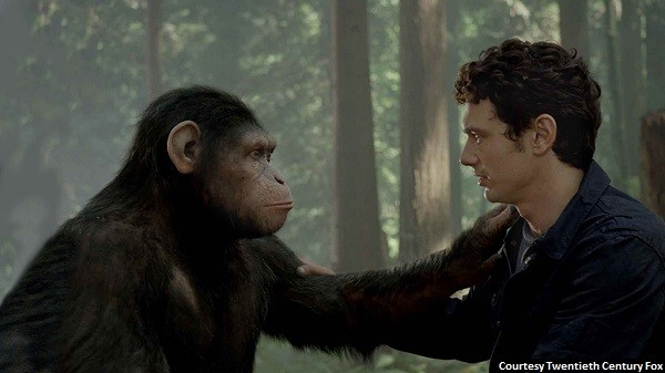 'Rise of the Planet of the Apes' mostly monkeyshines