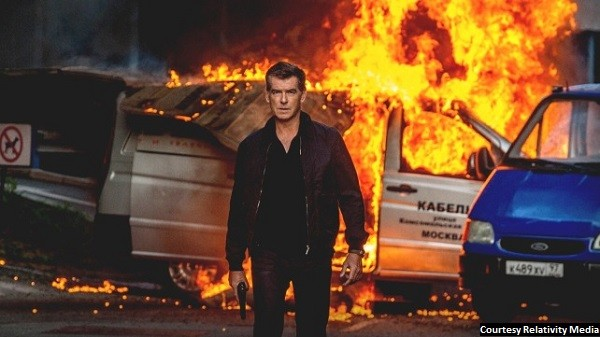 'The November Man' is slightly ridiculous, fairly entertaining