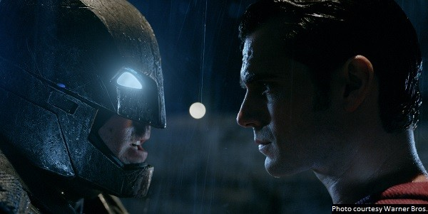 'Batman v Superman' is entertaining enough, but falls well short of greatness