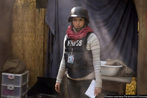 'Whiskey Tango Foxtrot' is interesting and mildly entertaining, but not much else