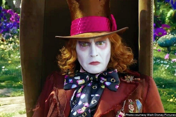 'Alice Through the Looking Glass' is conventional and unoriginal