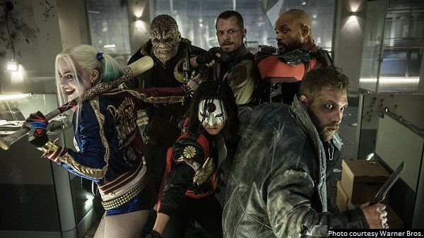 'Suicide Squad' is a rowdy, rambunctious, entertaining flick
