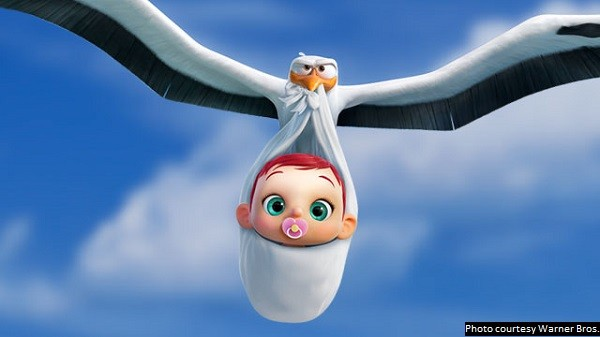 Highly enjoyable 'Storks' is funny, but also has genuine emotional moments