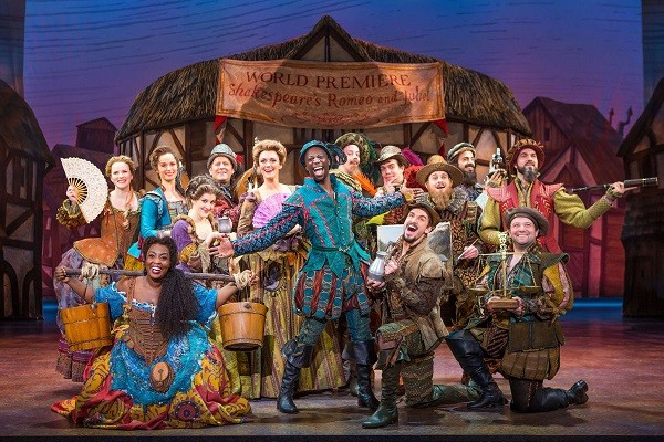 'Something Rotten!' is a fast-paced mashup of jokes and references to pop culture, Broadway and Shakespeare