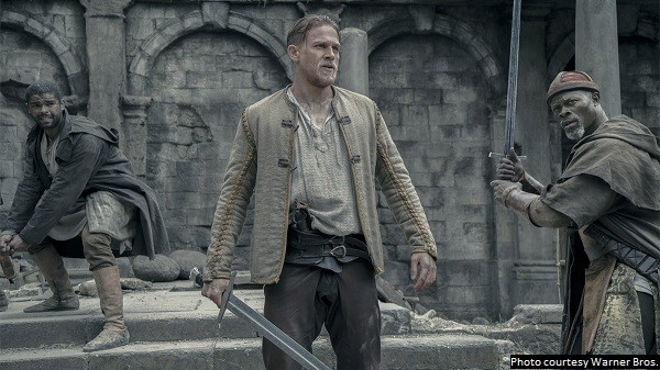 'King Arthur: Legend of the Sword' is a nutty, disjointed movie