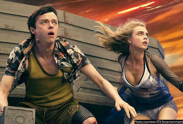 'Valerian' is a movie that is glorious to look at, but has its issues