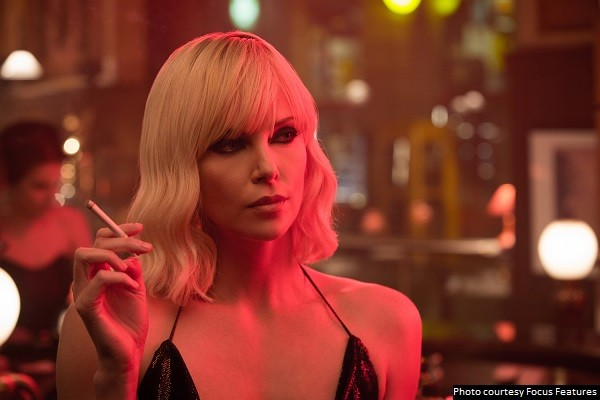 'Atomic Blonde' musters up just enough heat to blow you away