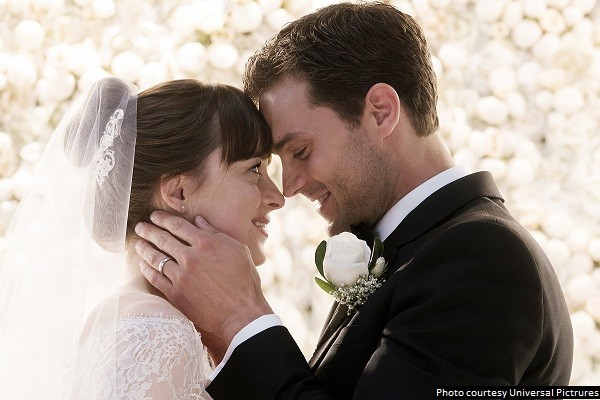 'Fifty Shades Freed' trades sexiness for melodrama and is almost unwatchable
