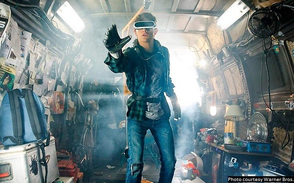 'Ready Player One' is a visual thrill ride