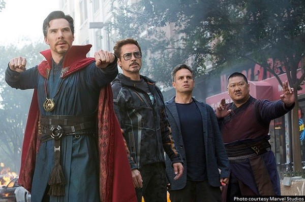 'Avengers: Infinity War' is a thrilling, nearly overwhelming cinematic experience