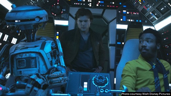 'Solo: A Star Wars Story' is a fun-filled heist flick that is a blast to watch
