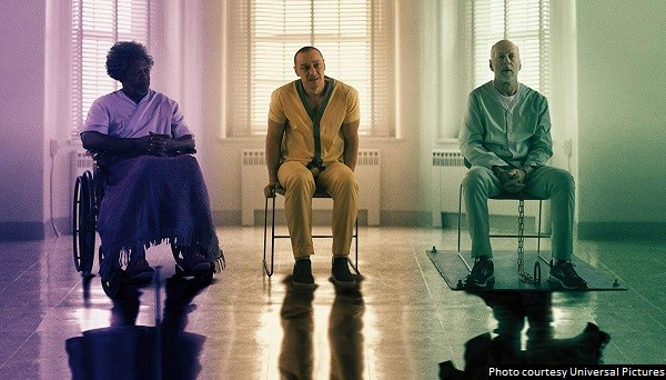 Ambitious 'Glass' caps one of the most unconventional trilogies in cinematic history