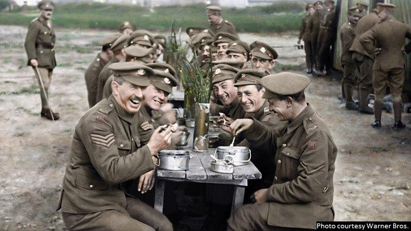 The restoration is the star of WWI documentary 'They Shall Not Grow Old'