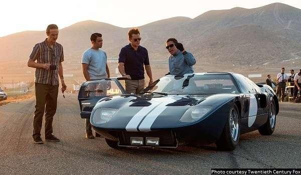 Damon, Bale make 'Ford v Ferrari' an enjoyable turn around the track
