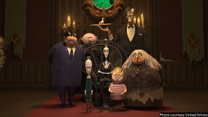 Animated 'The Addams Family' mostly delivers creepy, kooky goods