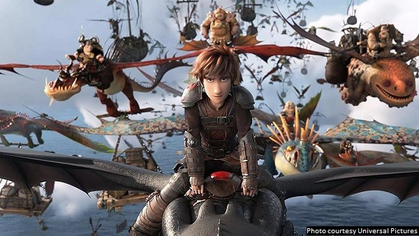Final film in 'How to Train Your Dragon' trilogy provides a satisfying and endearing conclusion