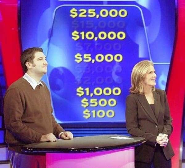 I lost on 'Millionaire,' baby